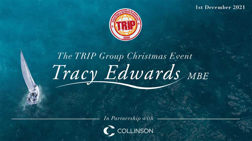 An Evening with Tracy Edwards MBE. Our Flagship evening networking event.