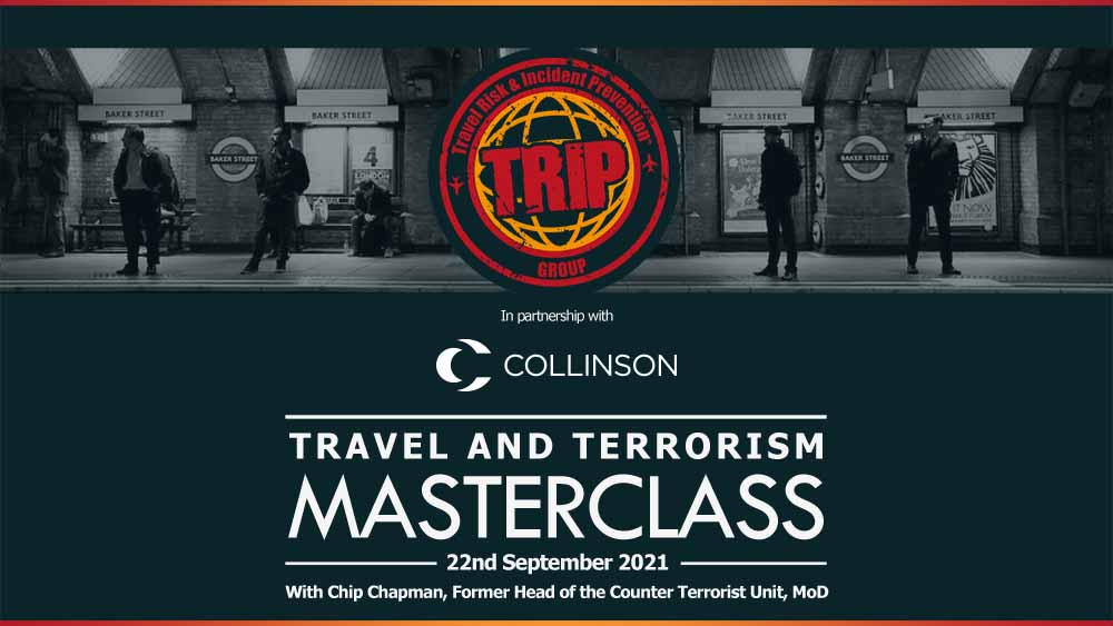Travel and Terrorism Masterclass with Chip Chapman